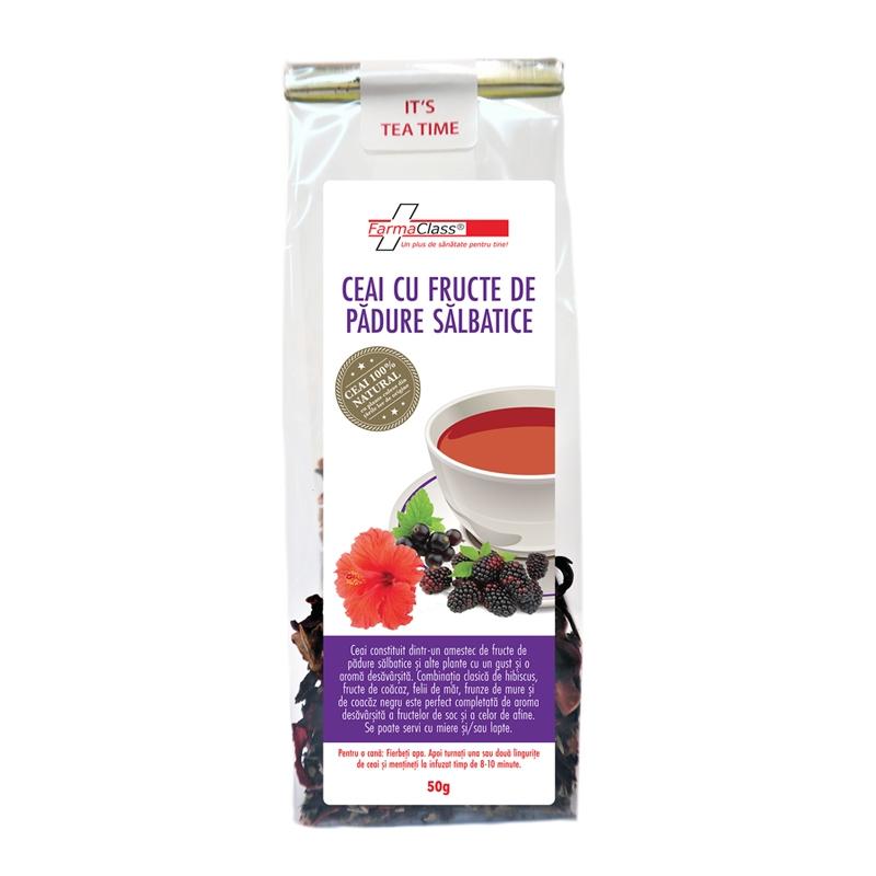 Ceai fructe de padure salbatice