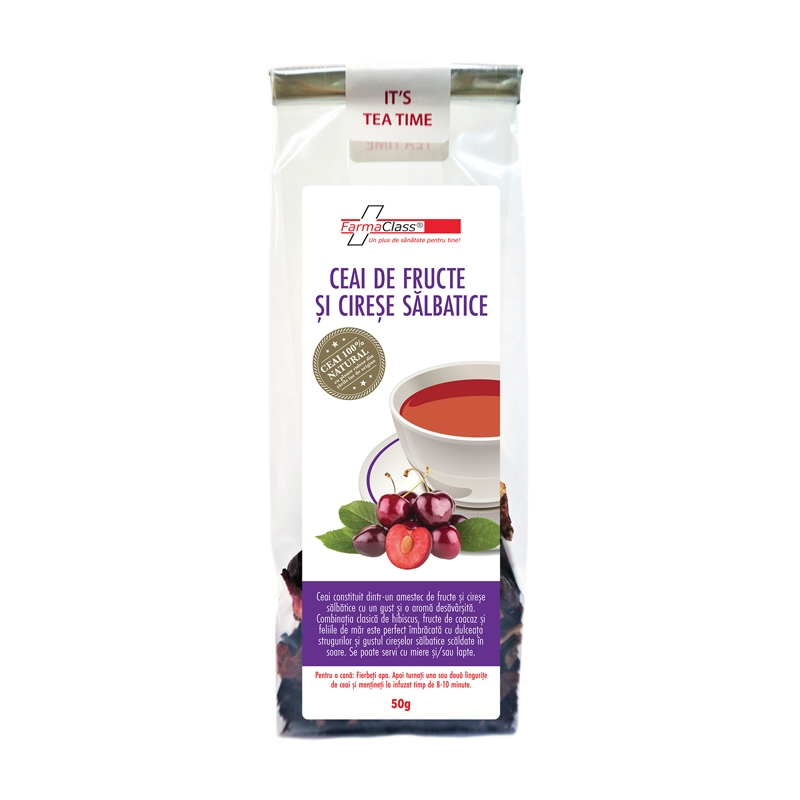 Ceai de fructe de padure si Cirese salbatice