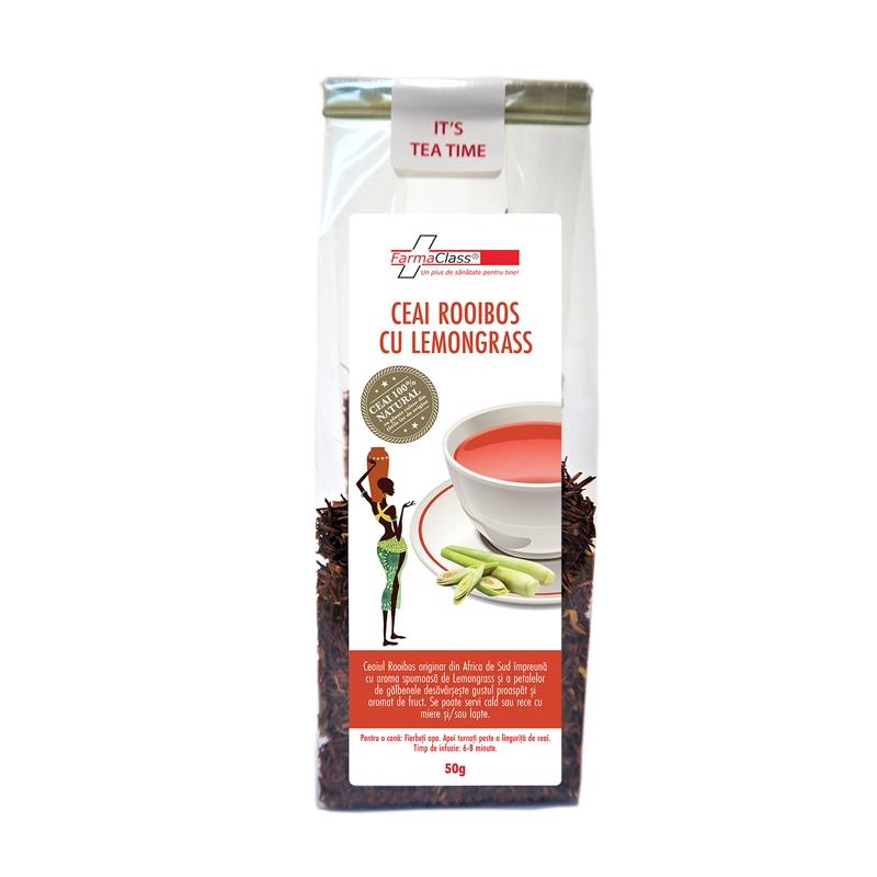 Ceai Rooibos cu Lemongrass
