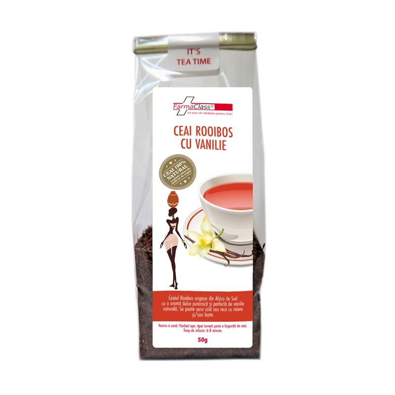Ceai Rooibos cu vanilie