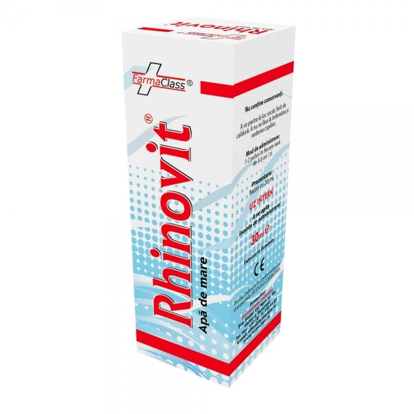 Rhinovit spray - apa de mare