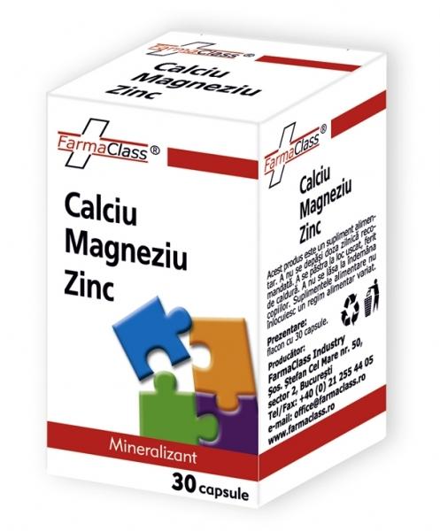 Calciu & Magneziu & Zinc